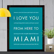 city home decor miami city home decor gift idea hopskipjumppaper