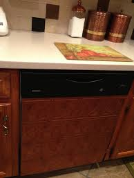 covering an ugly dishwasher in pvc backsplash tile article at