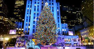 rockefeller center trees happy holidays