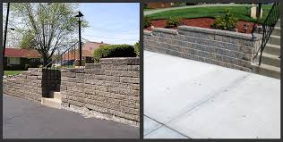 Unilock Walls Photo Gallery 2 Allemang Concrete U0026 Masonry Inc