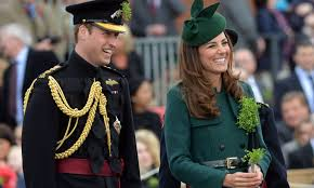 duke and duchess of cambridge will st s day with