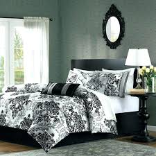 Black And Silver Bed Set Gray Comforter Set Queen Grey Sets Macys 6 Piece Tranquil Black
