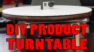 photography shooting table diy easy diy turntable for photography video under 60 youtube