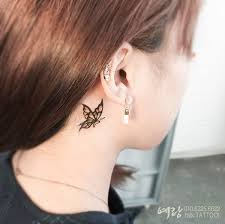 60 gorgeous of the ear tattoos that are so and