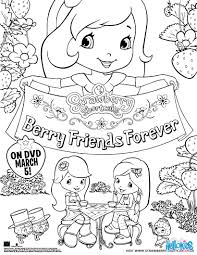 strawberry shortcake pulls apple dumplin in the wagon coloring