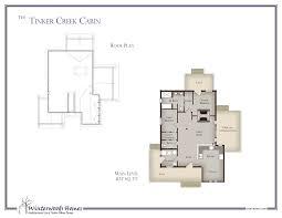 Cabin Floorplan The Tinker Creek Log Cabin Design Winterwoods Homes