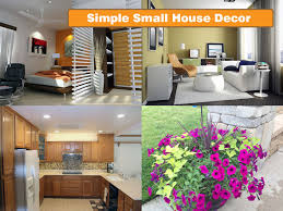 simple small house decor golden secret of decorating home