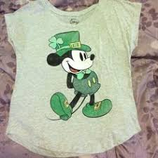 s day mickey mouse m navy disney mickey mouse gray green st 039 s day top