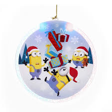 despicable me led 4 inch disc ornament entertainment earth