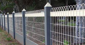 fashioned yard ornamental wire fencing premium grade
