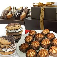 best food gifts to order online chocolate covered treats basket at send flowers