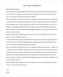 sample love letter to boyfriend 7 examples in word