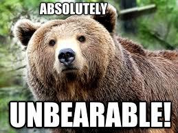 sad bear meme