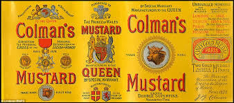 colman s mustard colman s mustard celebrates 200 years on britain s tables with