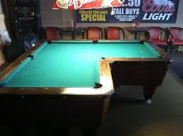 Teal Table L L Shaped Pool Table Design All About House Design The Best L