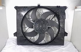electric radiator fans oem 1645000593 mercedes benz radiator fan replacement 12 volt