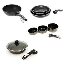 batterie de cuisine pour induction pas cher lot poeles et casseroles pour induction avec manche amovible achat
