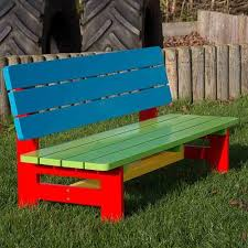 Ideas For Painting Garden Furniture by Best 25 Wooden Garden Benches Ideas On Pinterest Craftsman