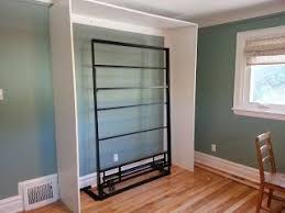 Freestanding Murphy Bed Frame Renovations And Houses Diy Ikea Murphy Bed Basement