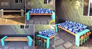 Simple Outdoor Bench Seat Plans by Diy Simple Outdoor Seating Home Design Garden U0026 Architecture