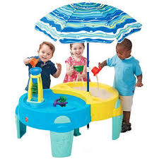 Walmart Table Umbrellas Step2 Shady Oasis Sand U0026 Water Table 40