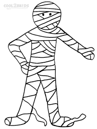printable mummy coloring pages coloring mummy coloring pages