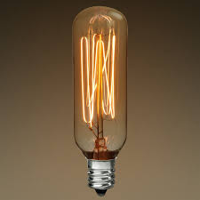 40 watt antique light bulb radio thread filament