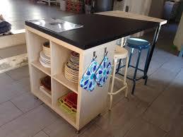 cuisine avec ilot ikea un nouvel îlot de cuisine avec kallax