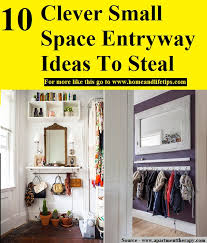 entryway ideas for small spaces 10 clever small space entryway ideas to steal home and life tips