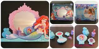 The Little Mermaid Bathroom Set Table Appealing Bath Fun With Disney Princess Ariels Vanity Set Et