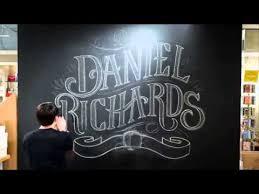 chalk lettering youtube