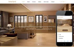 home interior website interient a interior architects flat bootstrap responsive web