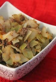stir fry cabbage with ground beef recipe fried cabbage