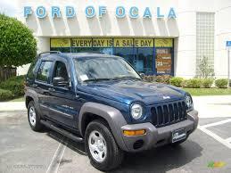 jeep 2003 2003 patriot blue pearl jeep liberty sport 8246653 gtcarlot com