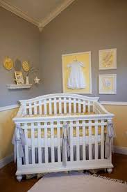 Gray And Yellow Nursery Decor Grey And Yellow Baby Room Ideas