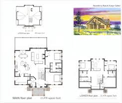 Large Cabin Floor Plans Strawberry Ranch Mountain Resort