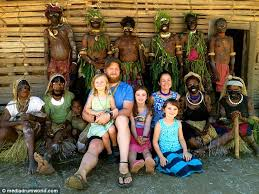 the tribal family from america among the hewa skerah