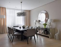 Wall Art For Dining Room Contemporary by Contemporary Loft In Russia Integrating Elegant Design Elements