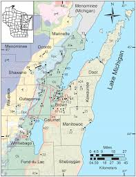 Wisconsin Usa Map by Geosciences Free Full Text Geochemical Characterization Of
