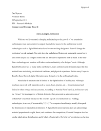 essay example for college