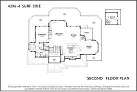4296 4 second hatteras builder house plans coastal cottage