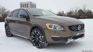 volvo vans road test review 2017 volvo v60 cross country platinum by carl