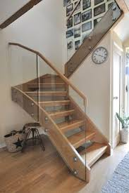 Modern Glass Stairs Design A Contemporary Oak And Glass Staircase With A Galleried Landing
