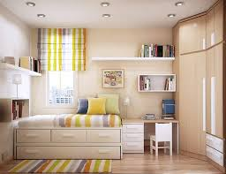 kids bedroom space with chic and multifunctional furniture design
