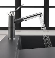 raised kitchen sink workstation with dual draining modex by blanco