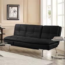 black convertible sofa lifestyle solutions serta roma convertible sofa in black