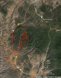 Anthem Arizona Map by Cedar Fire Near Show Low Arizona U2013 Wildfire Today