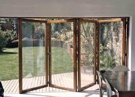 Exterior Folding Patio Doors Wooden Bi Folding Patio Doors Wooden Windows And Doors