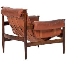 Swedish Leather Recliner Chairs Safari Chair In Rosewood And Red Leather By Ire Möbler In Sweden