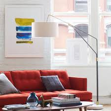 Winslow Arc Sectional Floor Lamp by Mid Century Overarching Floor Lamp Elle Pinterest